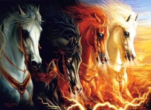 8° ECV – Os Quatro Cavaleiros de Apocalipse