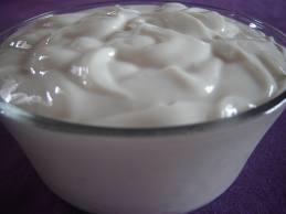 Creme de leite de soja