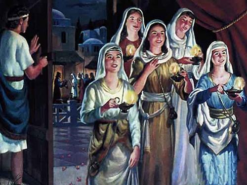 A Parabola das Dez Virgens