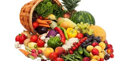 frutas e legumes porquinho-da-india